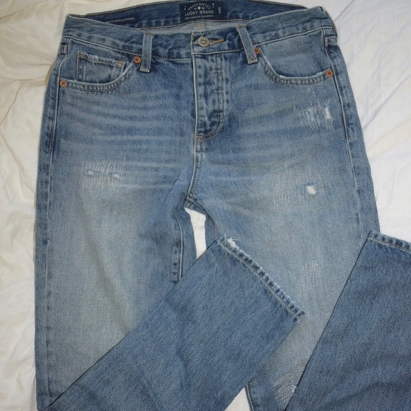 Lucky Brand Denim - Lucky brand boyfriend jeans size 0